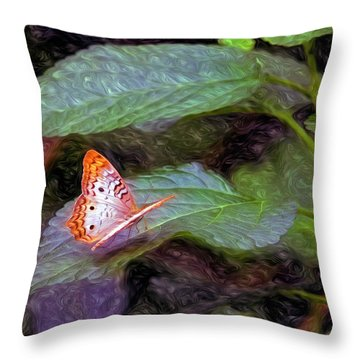 What A Great Place To Live Throw Pillow by James Steele