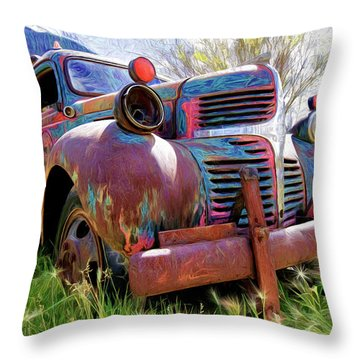 What A Great Time To Retire  Throw Pillow