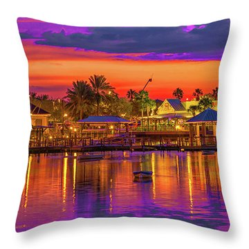 What A Night Throw Pillow