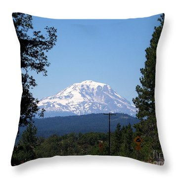 What A View Throw Pillow