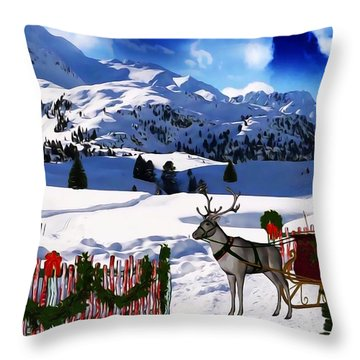 What A Wonderful Time Throw Pillow by Gabriella Weninger - David