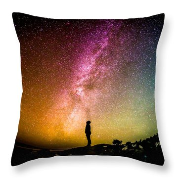 What I Saw Throw Pillow