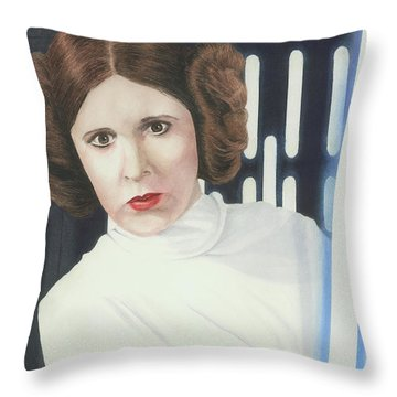 What If Leia...? Throw Pillow