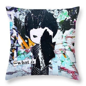 What Is ... Throw Pillow