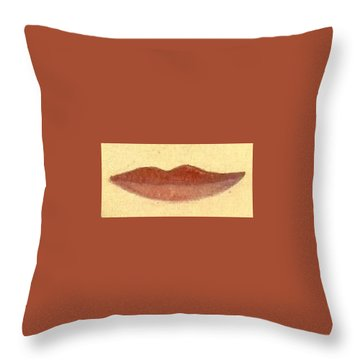Throw Pillow featuring the painting What Is Beauty by Bill OConnor