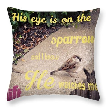 What Is The Price Of Two Sparrows-one Throw Pillow