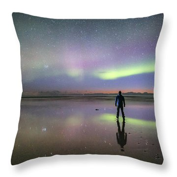 What Is Up And Down? Throw Pillow
