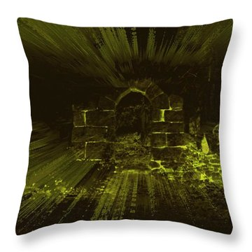 What Lies Beyond Throw Pillow