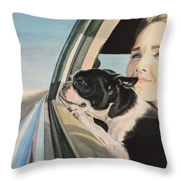 What Lies Beyond Throw Pillow