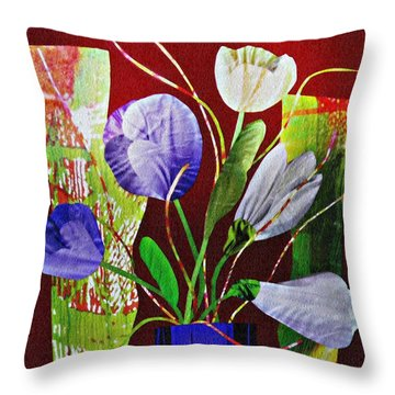 What Marie Left Behind Throw Pillow by Sarah Loft