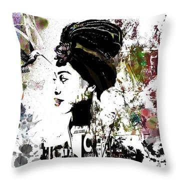 What Matters Throw Pillow by Angela Holmes
