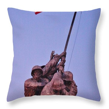 Throw Pillow featuring the photograph What Matters Is Winning... by Vadim Levin