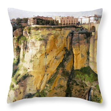 What Place Is This Throw Pillow