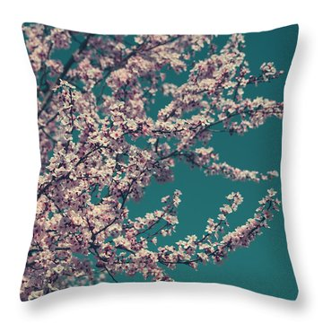 What This New Life Will Bring Throw Pillow by Laurie Search