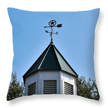 Throw Pillow featuring the photograph Whatever Direction You Take - Reach For The Sky by Ray Shrewsberry