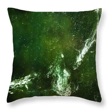 Throw Pillow featuring the photograph Whatever You Do Leave Your Mark by Onyonet  Photo Studios