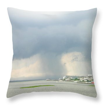 What's Coming? Throw Pillow