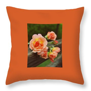 What's In A Name Throw Pillow by Marija Djedovic