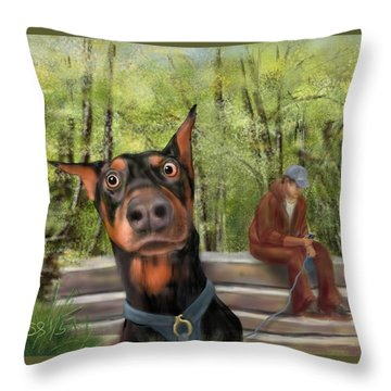 What's That I Hear? Throw Pillow