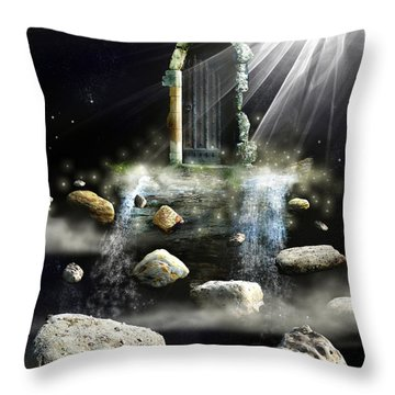What's The Next Step  Throw Pillow