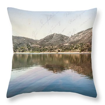 What's Your Story? Throw Pillow