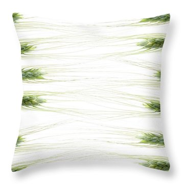 Throw Pillow featuring the photograph Wheat 2 by Rebecca Cozart