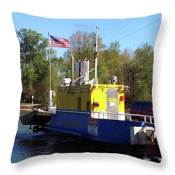 Wheatland Ferry Throw Pillow