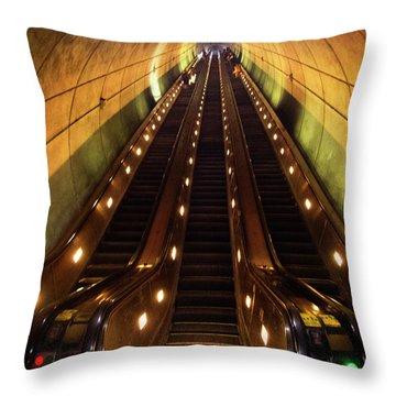 Wheaton Escalator Throw Pillow