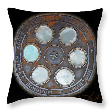 Wheel 2 Throw Pillow