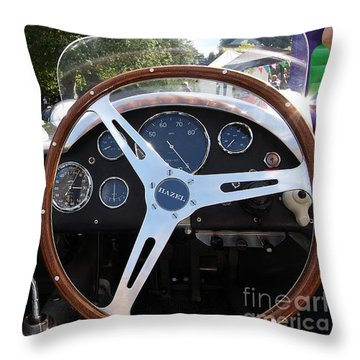 Throw Pillow featuring the photograph Wheel by Gary Bridger