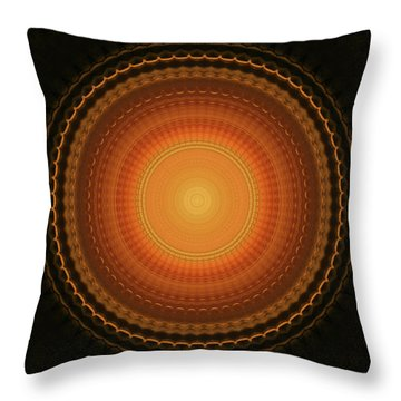 Wheel Kaleidoscope Throw Pillow