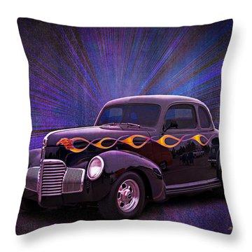 Wheels Of Dreams 2b Throw Pillow