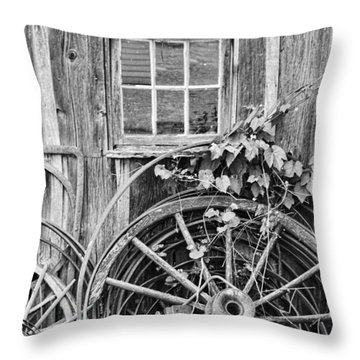 Wheels Wheels And More Wheels Throw Pillow