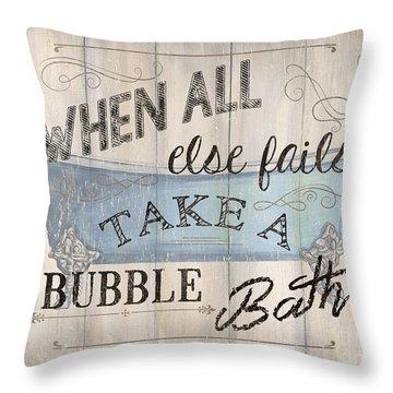 When All Else Fails Throw Pillow