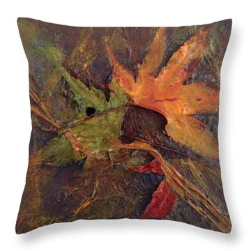 When Autumn Comes... Throw Pillow