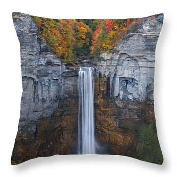 When Autumn Falls Throw Pillow