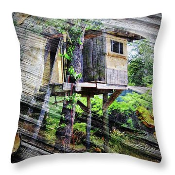 Throw Pillow featuring the photograph When Boys Dream by Brian Wallace