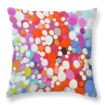When Day Turns To Night Throw Pillow