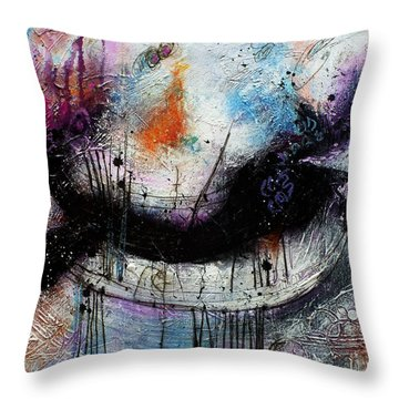 When Days Go By Throw Pillow