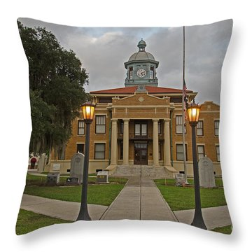 When Elvis Came To Town Throw Pillow