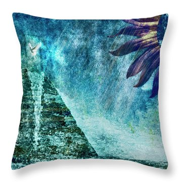 When Heaven Cries Throw Pillow