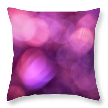 Throw Pillow featuring the photograph When I Close My Eyes by Jan Bickerton