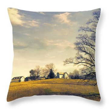 When I Come Back Throw Pillow