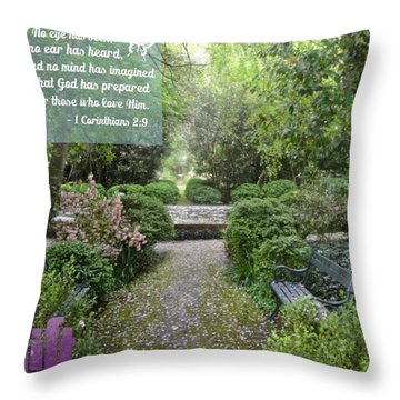 When I First Came To You, Dear Brothers Throw Pillow