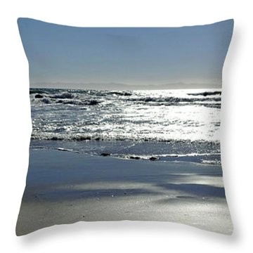 When I Look To The West Throw Pillow
