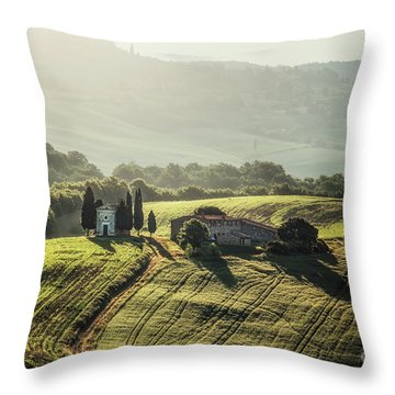 When I Wake Up Dreaming Throw Pillow