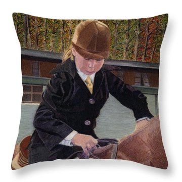 When I Was Young... Throw Pillow by Patricia Barmatz