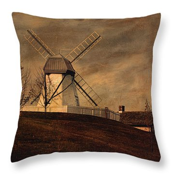 When It's Moonlight On The Prairie Throw Pillow