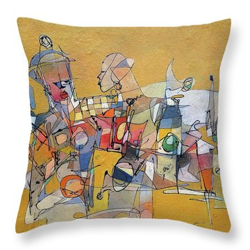 When Its Not Your War Throw Pillow by Ronex Ahimbisibwe