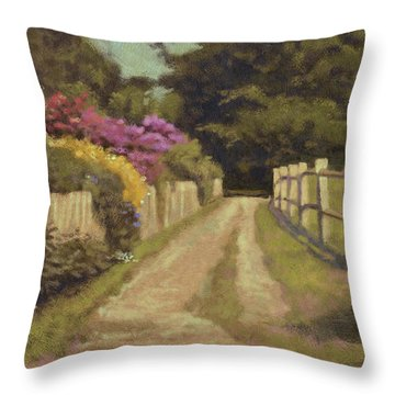 When Life Was Good Throw Pillow